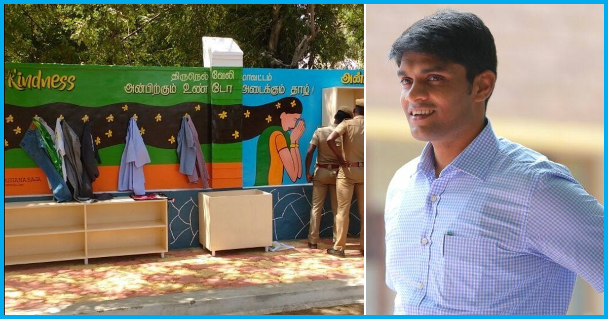 Tamil Nadu District Collector started A 'Wall Of Kindness'