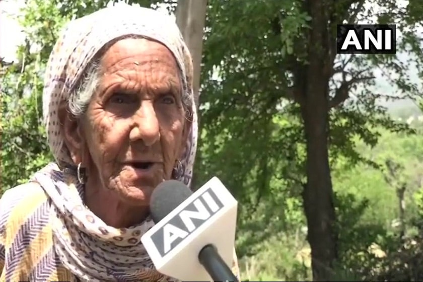87-yr-old woman constructs toilet to make her village open defecation free