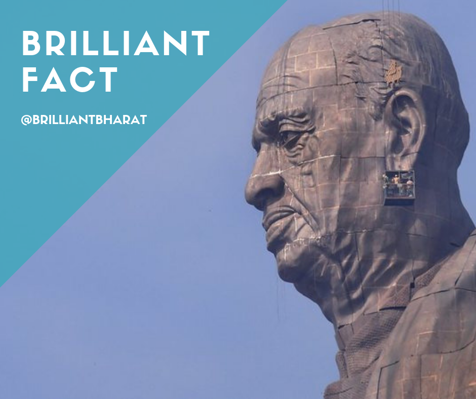 Sardar Vallabhbhai Patel's Statue of Unity,Statue of Unity: Interesting facts about the world's tallest statue,Statue of Unity Facts, 8 Amazing facts about the Statue of Unity, Statue of Unity