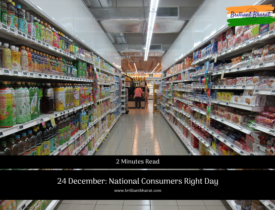 24 December: National Consumers Right Day in india
