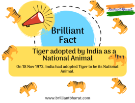 tiges were adopted as our national aimal