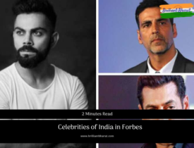 Celebrities of India in Forbes in 2019