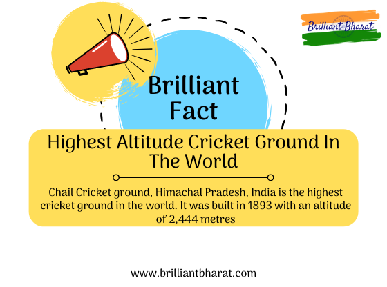 Where Is The World's Highest Cricket Ground Located, Highest Cricket Ground, Chail Cricket ground, Himachal Pradesh, India,
