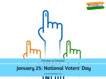January 25 National Voters Day